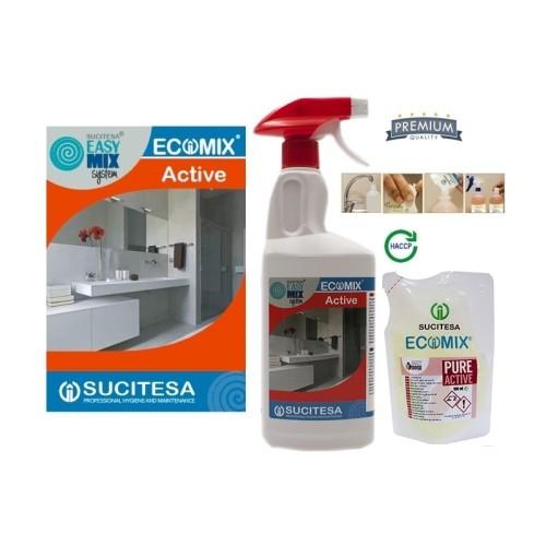 Kvapnus vonios kambario valiklis ECOMIX ACTIVE 1L